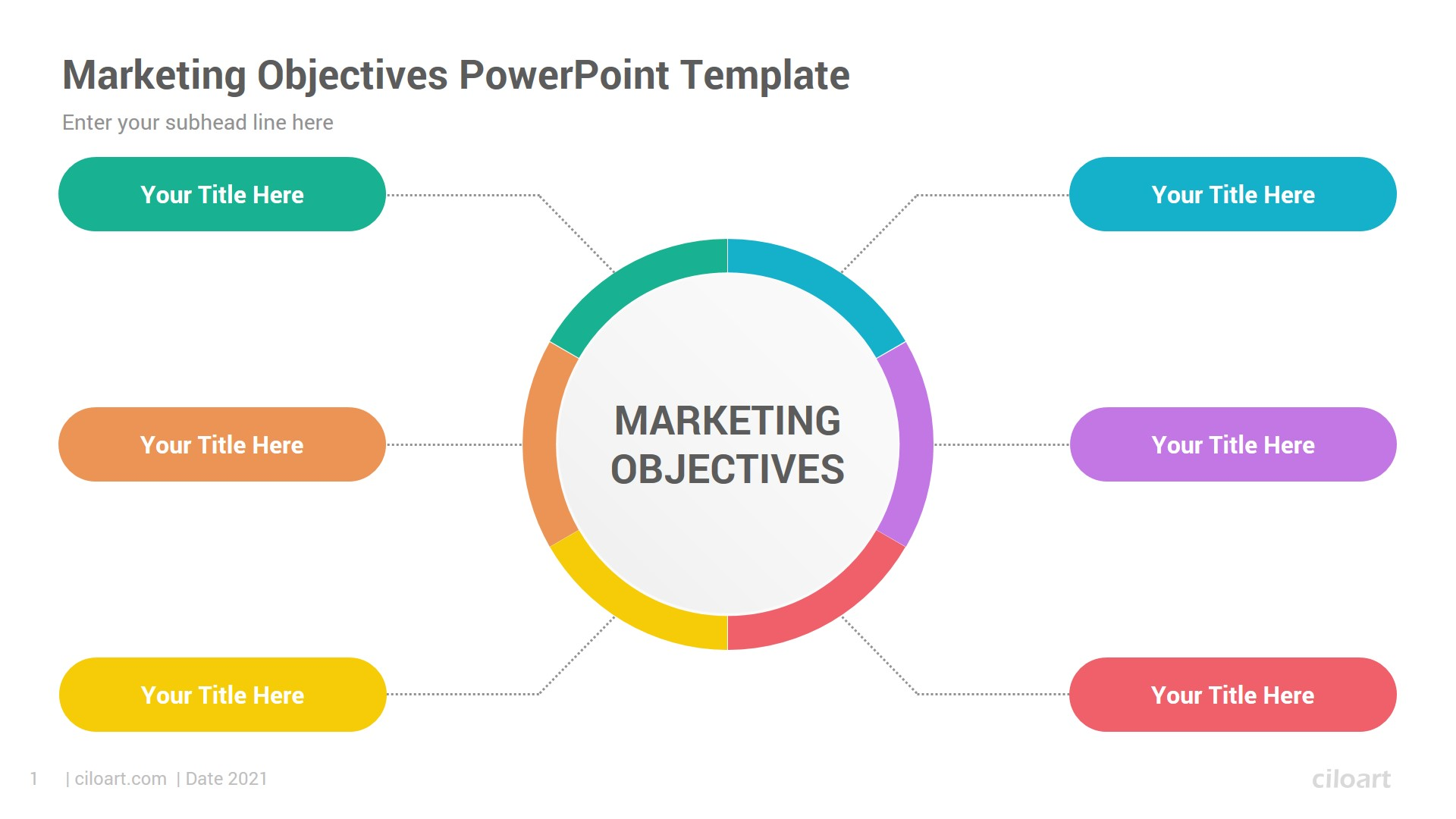 Marketing Objectives PowerPoint Template