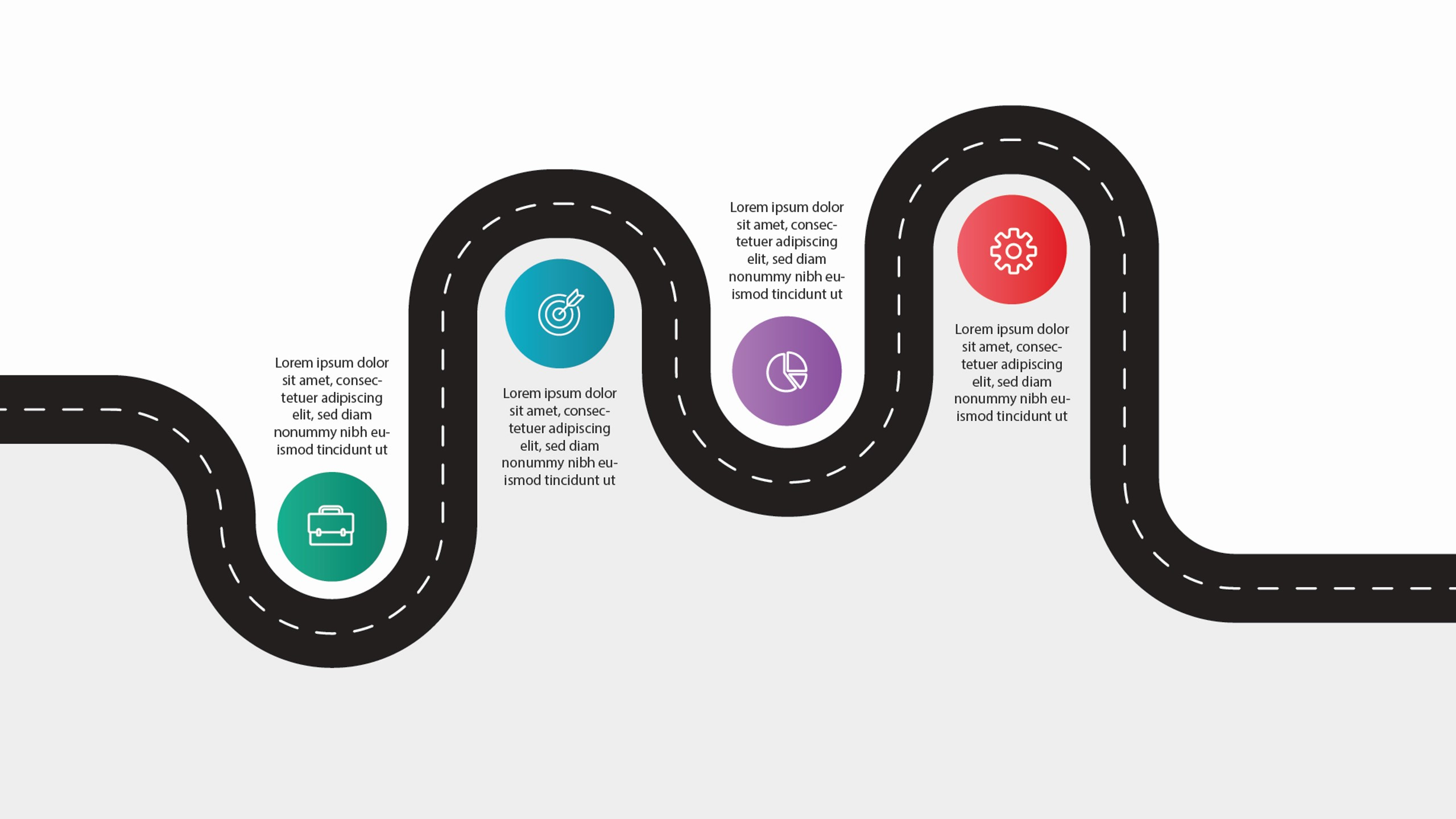 Business Roadmap PPT Template