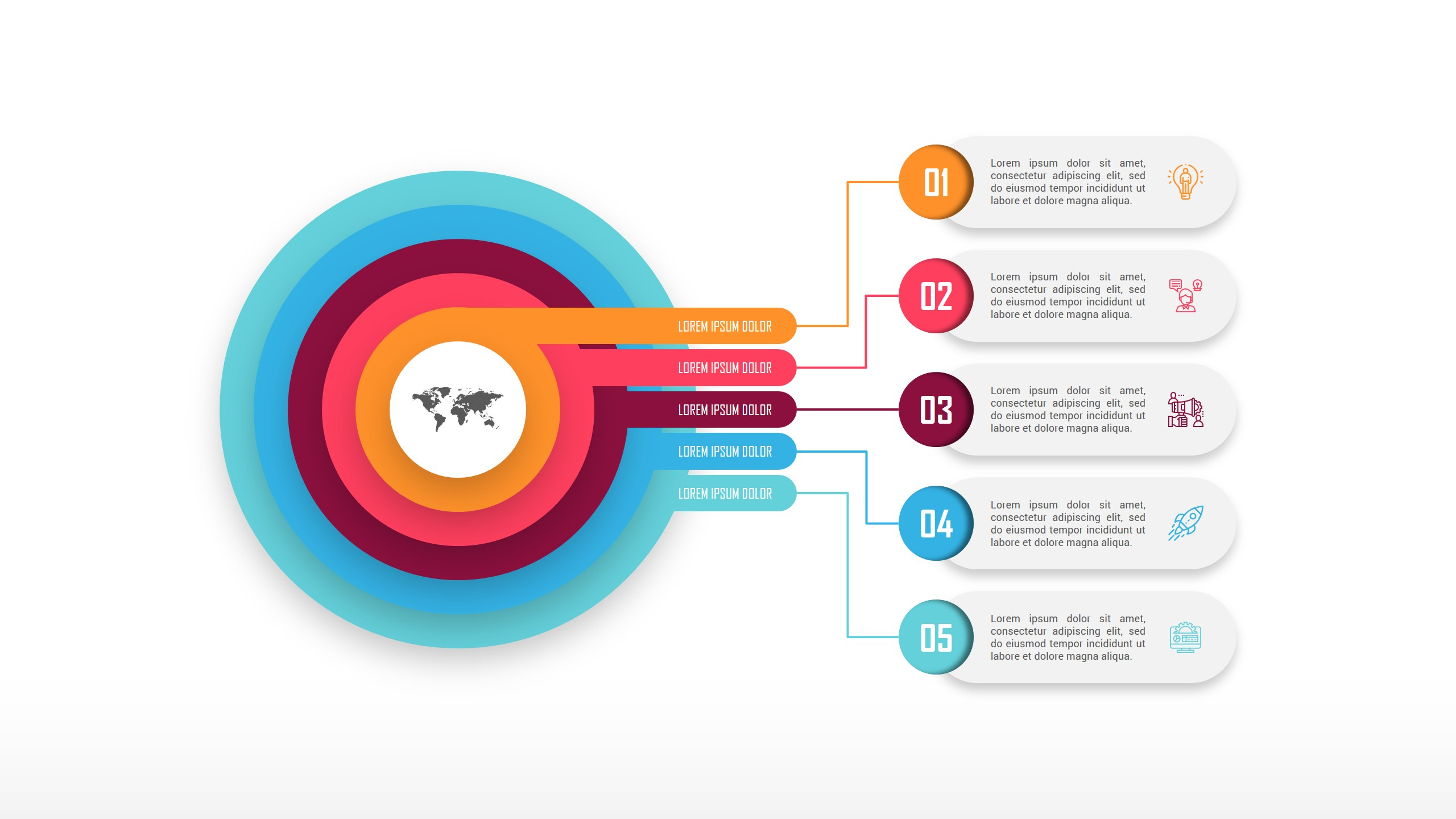 Comparison Chart PowerPoint Infographic Design