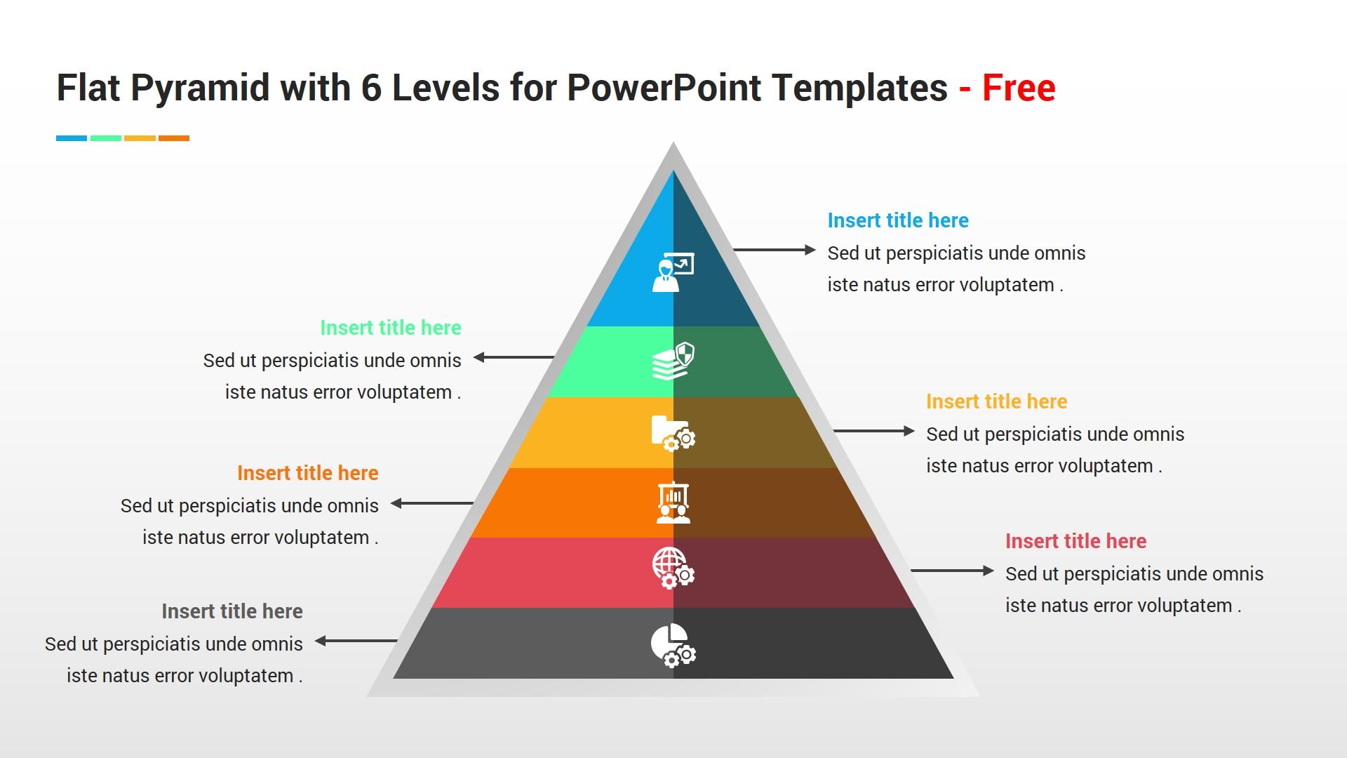 Flat Powerpoint Template