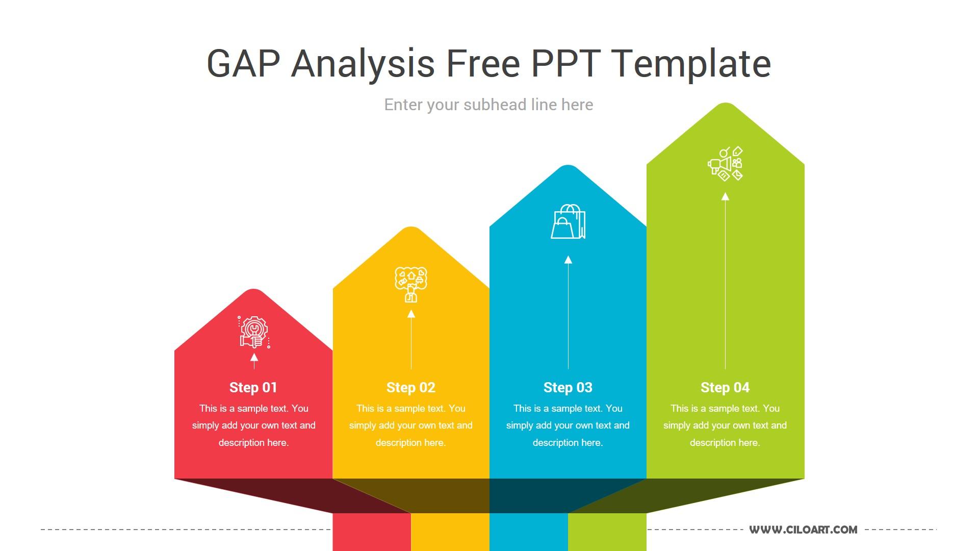 Gap Analysis Free PPT Template