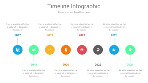 Comparison Timeline PowerPoint Infographics