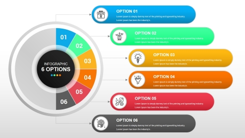 Free Workflow Layout and Business Infographics For PowerPoint and Google Slides Templates