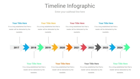 Parallel Timeline PowerPoint Design
