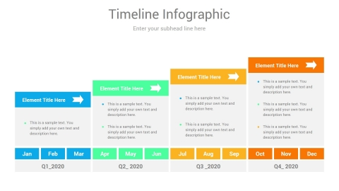 Promotion Plan Timelines PowerPoint slides