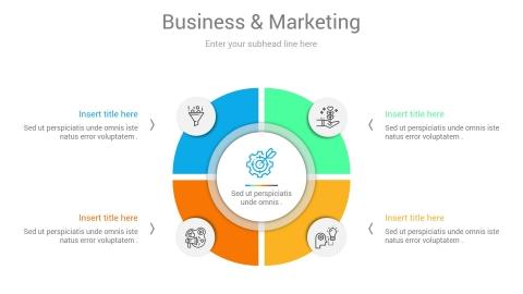 Strategic Marketing Plan PowerPoint Infographic