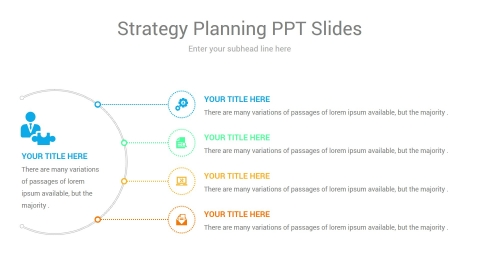 Strategy planning ppt slides