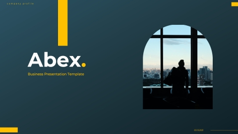 Abex Modern Business PowerPoint Template