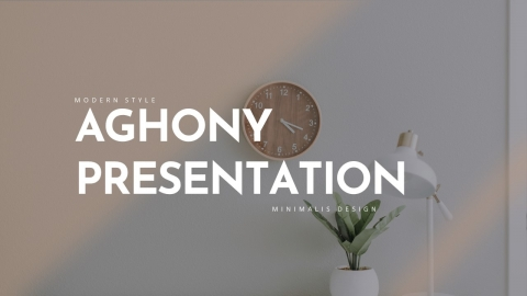 Aghony Creative Business PowerPoint Template
