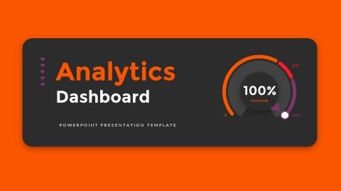 Analytics Dashboards PowerPoint Presentation Template