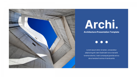 Archi Architecture Presentation PowerPoint Template