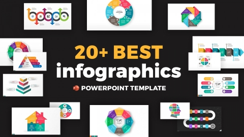 20+ Best Infographics PowerPoint Template Design for Presentation
