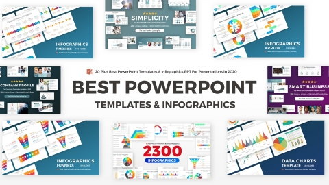 20+ Best PowerPoint Templates and Infographics PPT Designs for Presentations in 2020