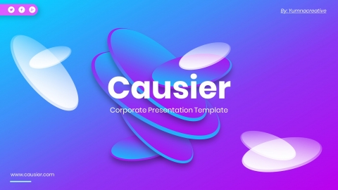 Causier Corporate Powerpoint Templates