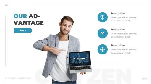 Citizen Powerpoint Template