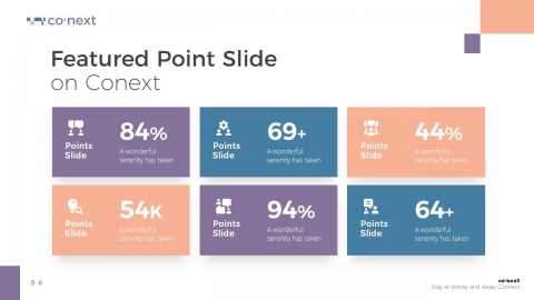 Conext Business Technology PowerPoint Template