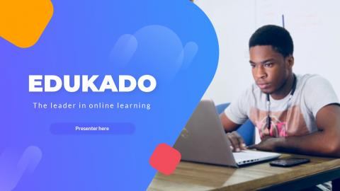 EDUCADO Education Course PowerPoint Template