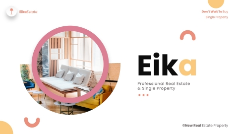 Eika Real Estate Powerpoint Template