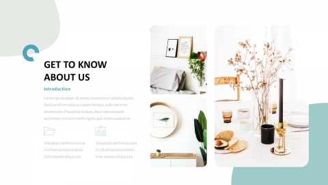 Everge Business Power Point Template