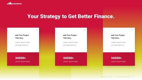 Finanpedia Finance Modern PowerPoint Template