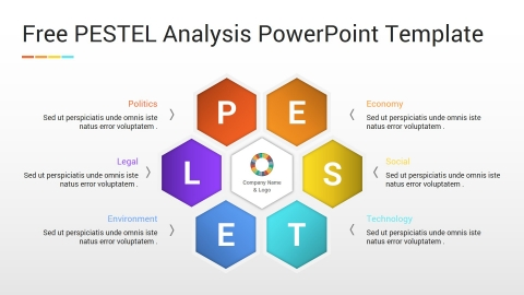 Free PESTEL Analysis PowerPoint Template