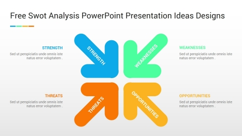 Free Swot Analysis PowerPoint Presentation Ideas Designs