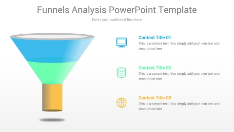 Funnels Analysis PowerPoint Template