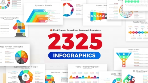 Infographics Complete Bundle PowerPoint Templates Diagrams