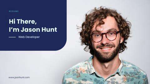 JSON CV Resume Portfolio for UX Designer & Developer.