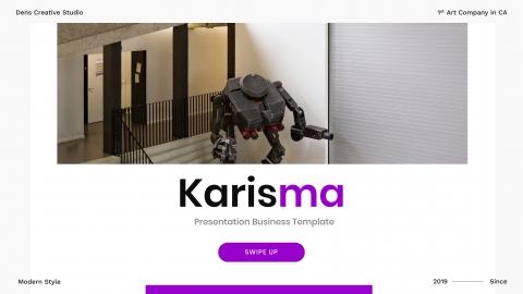 Karisma Business PowerPoint Template