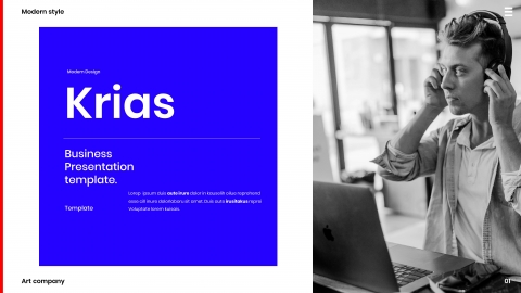 Krias Business PowerPoint Template