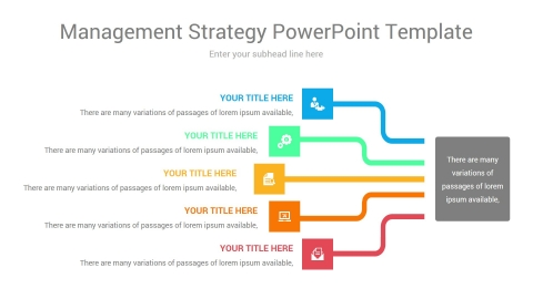management strategy powerpoint template