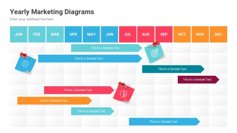 Marketing Infographics PowerPoint Template diagrams