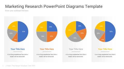 Marketing Research PowerPoint Diagrams Template