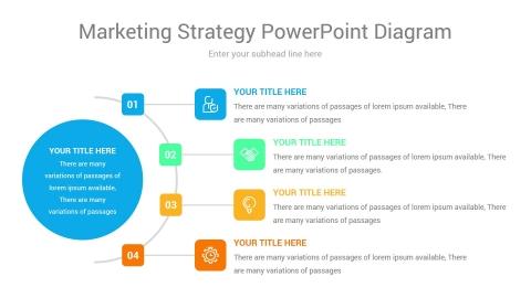 marketing strategy powerpoint diagram