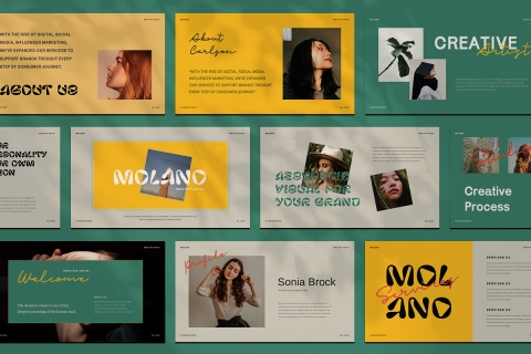 Molano PowerPoint Template