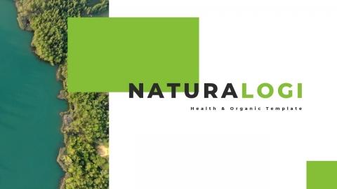 Naturalogi Health and Nature PowerPoint Template
