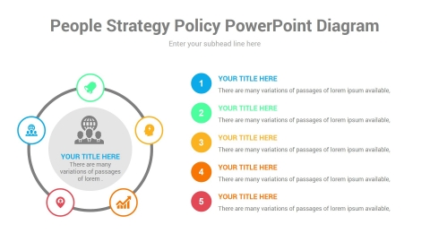 people strategy policy powerpoint diagram