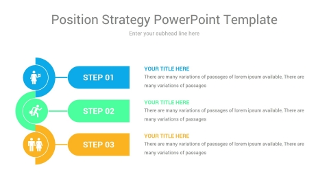 position strategy powerpoint template