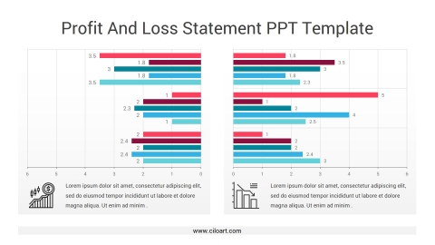 Profit And Loss Statement PPT Template