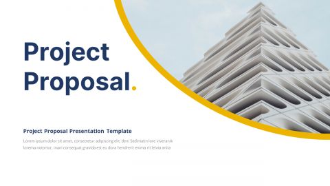 Proposal Business Presentation PowerPoint Template