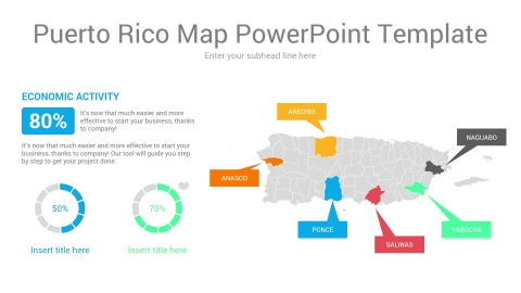 Puerto Rico Map PowerPoint Template