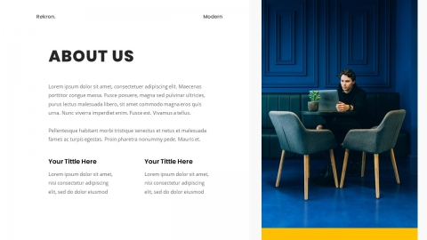 Rekron Business PowerPoint Template