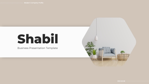 Shabil Business PowerPoint Template