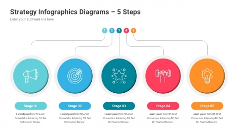 Strategy Infographics PowerPoint Template Diagrams