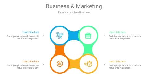 Test Marketing PowerPoint Infographic Slides design