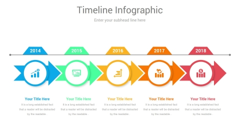 Timeline Project PowerPoint Infographic