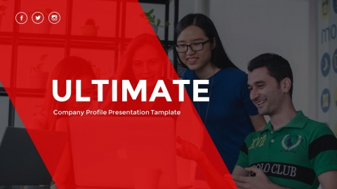 Ultimate Company Profile PowerPoint Template