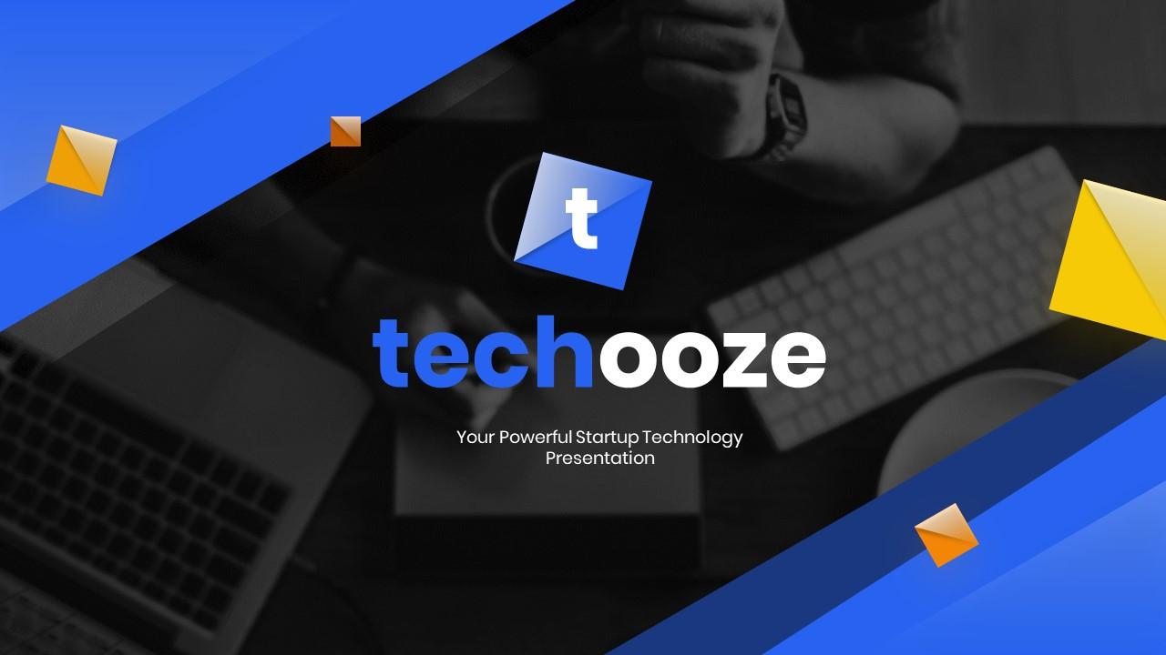 Techooze Startup Modern PowerPoint Template